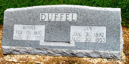 DUFFEL, MINNIE - Woodruff County, Arkansas | MINNIE DUFFEL - Arkansas Gravestone Photos