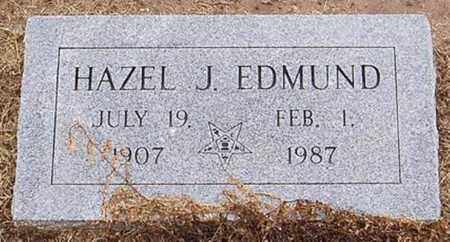 EDMUND, HAZEL J. - Woodruff County, Arkansas | HAZEL J. EDMUND - Arkansas Gravestone Photos