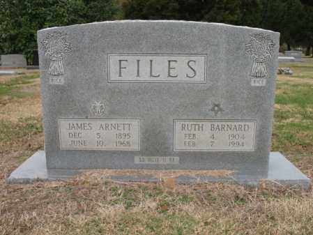 FILES, RUTH BARNARD - Woodruff County, Arkansas | RUTH BARNARD FILES - Arkansas Gravestone Photos