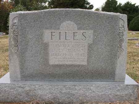 FILES, LENORA ALICE - Woodruff County, Arkansas | LENORA ALICE FILES - Arkansas Gravestone Photos