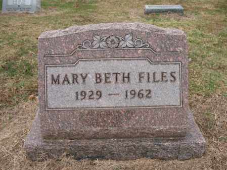 VANDERBURG FILES, MARY BETH - Woodruff County, Arkansas | MARY BETH VANDERBURG FILES - Arkansas Gravestone Photos