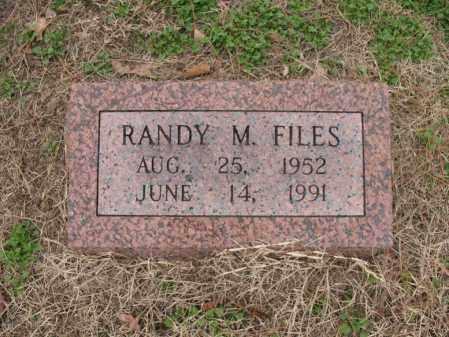 FILES, RANDY M - Woodruff County, Arkansas | RANDY M FILES - Arkansas Gravestone Photos