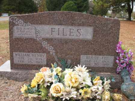 FILES, BESSIE LEE - Woodruff County, Arkansas | BESSIE LEE FILES - Arkansas Gravestone Photos