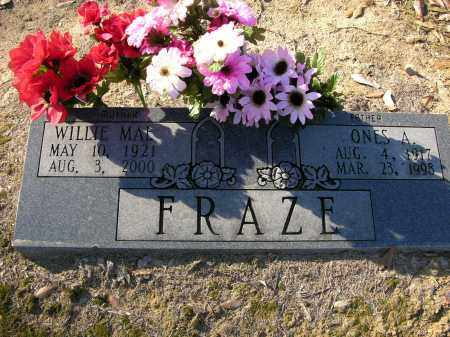 TUCKER FRAZE, WILLIE  MAE - Woodruff County, Arkansas | WILLIE  MAE TUCKER FRAZE - Arkansas Gravestone Photos