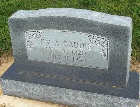 GADDIS, JIM A. - Woodruff County, Arkansas | JIM A. GADDIS - Arkansas Gravestone Photos