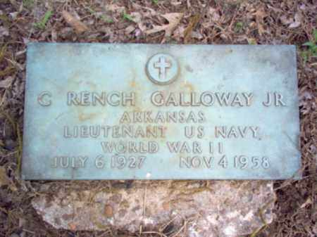 GALLOWAY, JR (VETERAN WWII), CHARLES RENCH - Woodruff County, Arkansas | CHARLES RENCH GALLOWAY, JR (VETERAN WWII) - Arkansas Gravestone Photos