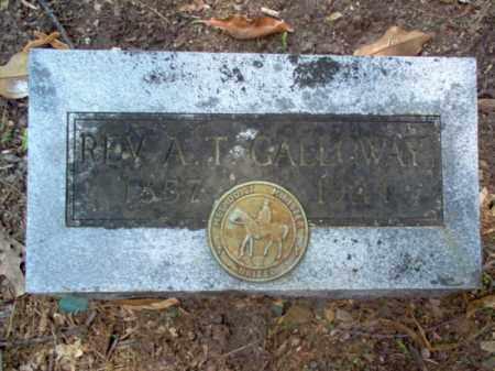 GALLOWAY, REV, ALBERT TAYLOR - Woodruff County, Arkansas | ALBERT TAYLOR GALLOWAY, REV - Arkansas Gravestone Photos