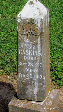 GASKINS, JESSIE E. - Woodruff County, Arkansas | JESSIE E. GASKINS - Arkansas Gravestone Photos