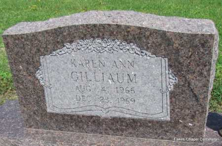 GILLIAUM, KAREN ANN - Woodruff County, Arkansas | KAREN ANN GILLIAUM - Arkansas Gravestone Photos