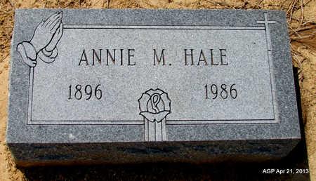 HALE, ANNIE M. - Woodruff County, Arkansas | ANNIE M. HALE - Arkansas Gravestone Photos