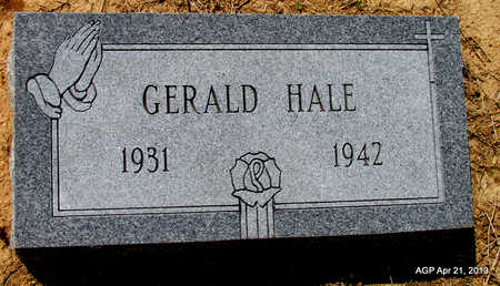 HALE, GERALD - Woodruff County, Arkansas | GERALD HALE - Arkansas Gravestone Photos