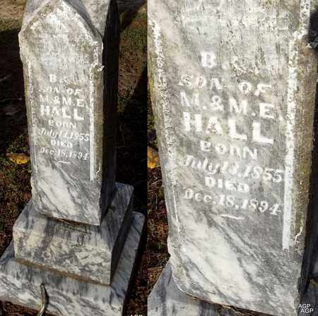 HALL, B - Woodruff County, Arkansas | B HALL - Arkansas Gravestone Photos