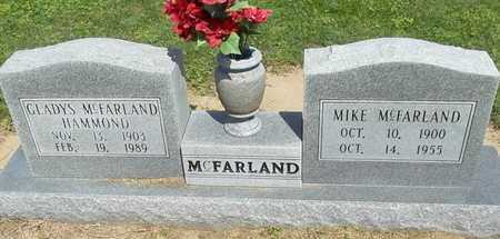 MCFARLAND, MIKE - Woodruff County, Arkansas | MIKE MCFARLAND - Arkansas Gravestone Photos