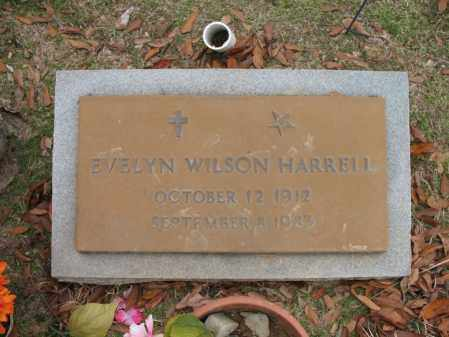 WILSON HARRELL, EVELYN - Woodruff County, Arkansas | EVELYN WILSON HARRELL - Arkansas Gravestone Photos