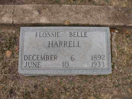 HARRELL, FLOSSIE BELLE - Woodruff County, Arkansas | FLOSSIE BELLE HARRELL - Arkansas Gravestone Photos