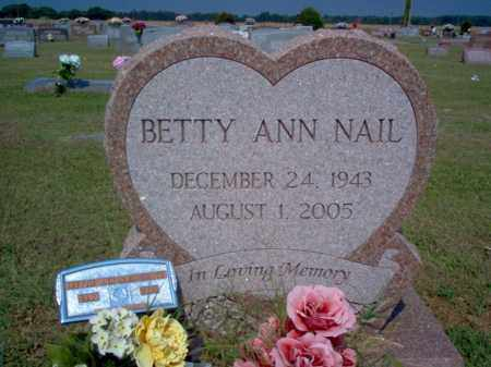 NAIL HEATH, BETTY ANN - Woodruff County, Arkansas | BETTY ANN NAIL HEATH - Arkansas Gravestone Photos