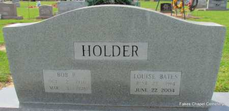 BATES HOLDER, LOUISE - Woodruff County, Arkansas | LOUISE BATES HOLDER - Arkansas Gravestone Photos