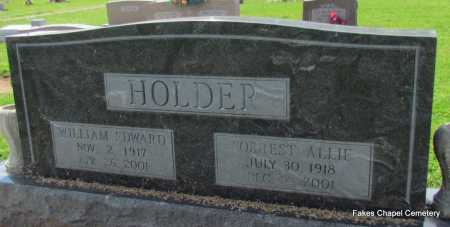 HOLDER, FORREST ALLIE - Woodruff County, Arkansas | FORREST ALLIE HOLDER - Arkansas Gravestone Photos