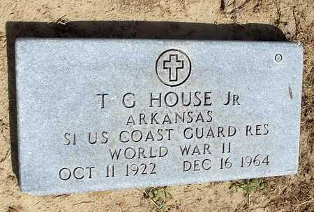 HOUSE, JR  (VETERAN WWII), T G - Woodruff County, Arkansas | T G HOUSE, JR  (VETERAN WWII) - Arkansas Gravestone Photos