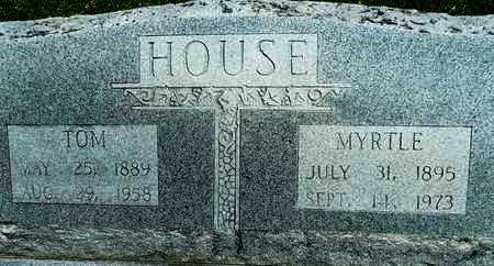 HOUSE, MYRTLE - Woodruff County, Arkansas | MYRTLE HOUSE - Arkansas Gravestone Photos