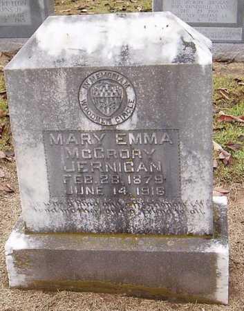 MCCRORY JERNIGAN, MARY EMMA - Woodruff County, Arkansas   MARY EMMA MCCRORY JERNIGAN - Arkansas Gravestone Photos