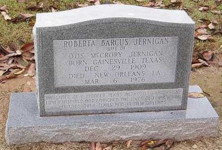 BARCUS JERNIGAN, ROBERTA - Woodruff County, Arkansas | ROBERTA BARCUS JERNIGAN - Arkansas Gravestone Photos