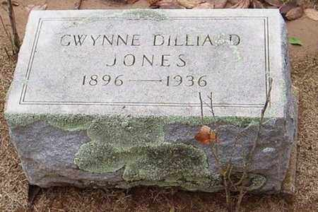 DILLIARD JONES, GWYNNE - Woodruff County, Arkansas | GWYNNE DILLIARD JONES - Arkansas Gravestone Photos