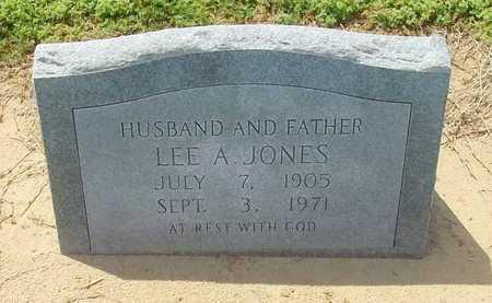 JONES, LEE A - Woodruff County, Arkansas | LEE A JONES - Arkansas Gravestone Photos