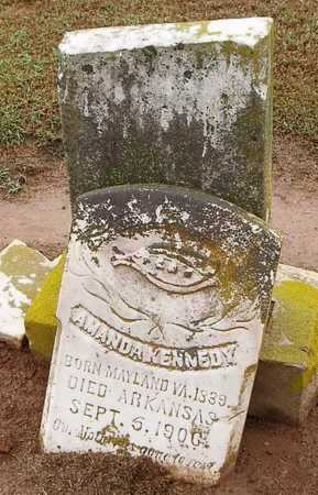 KENNEDY, AMANDA - Woodruff County, Arkansas | AMANDA KENNEDY - Arkansas Gravestone Photos
