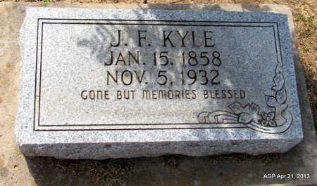 KYLE, J. F. - Woodruff County, Arkansas | J. F. KYLE - Arkansas Gravestone Photos