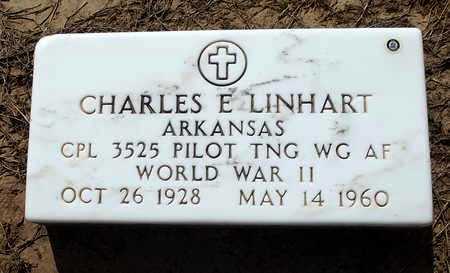 LINHART  (VETERAN WWII), CHARLES E - Woodruff County, Arkansas | CHARLES E LINHART  (VETERAN WWII) - Arkansas Gravestone Photos