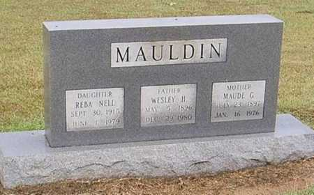 MAULDIN  II, WESLEY - Woodruff County, Arkansas | WESLEY MAULDIN  II - Arkansas Gravestone Photos