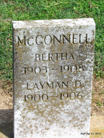 MCCONNELL, BERTHA - Woodruff County, Arkansas | BERTHA MCCONNELL - Arkansas Gravestone Photos