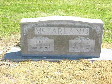 JONES MCFARLAND, ETHEL N. - Woodruff County, Arkansas | ETHEL N. JONES MCFARLAND - Arkansas Gravestone Photos