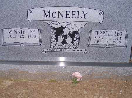 MCNEELY, FERRELL LEO - Woodruff County, Arkansas | FERRELL LEO MCNEELY - Arkansas Gravestone Photos