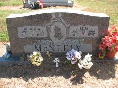 MCNEELY, BEDA - Woodruff County, Arkansas | BEDA MCNEELY - Arkansas Gravestone Photos