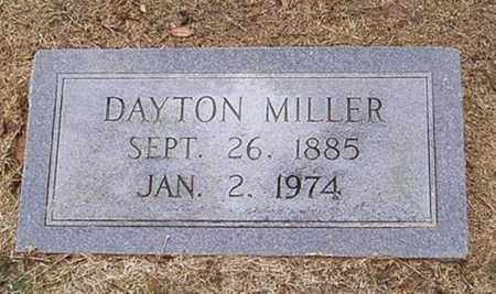 MILLER, DAYTON - Woodruff County, Arkansas | DAYTON MILLER - Arkansas Gravestone Photos