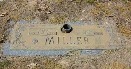 MILLER, TOM A. - Woodruff County, Arkansas | TOM A. MILLER - Arkansas Gravestone Photos