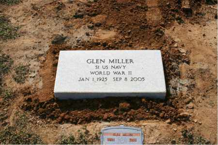 MILLER (VETERAN WWII), GLEN - Woodruff County, Arkansas | GLEN MILLER (VETERAN WWII) - Arkansas Gravestone Photos