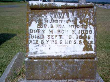 MOORE, AVA - Woodruff County, Arkansas | AVA MOORE - Arkansas Gravestone Photos