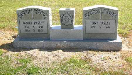 PASLEY, JANICE - Woodruff County, Arkansas | JANICE PASLEY - Arkansas Gravestone Photos