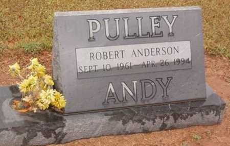 "PULLEY, ROBERT ANDERSON ""ANDY"" - Woodruff County, Arkansas 