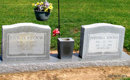 RIDGWAY, ELVIS D. - Woodruff County, Arkansas | ELVIS D. RIDGWAY - Arkansas Gravestone Photos