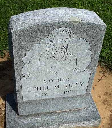 RILEY, ETHEL M. - Woodruff County, Arkansas | ETHEL M. RILEY - Arkansas Gravestone Photos