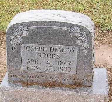 ROOKS, JOSEPH DEMPSY - Woodruff County, Arkansas | JOSEPH DEMPSY ROOKS - Arkansas Gravestone Photos