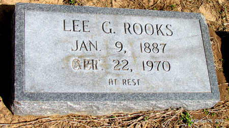 ROOKS, LEE G. - Woodruff County, Arkansas | LEE G. ROOKS - Arkansas Gravestone Photos