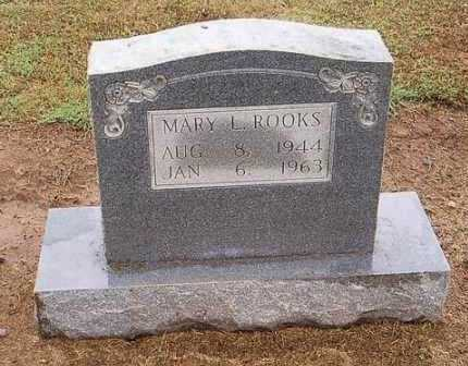 ROOKS, MARY L. - Woodruff County, Arkansas | MARY L. ROOKS - Arkansas Gravestone Photos