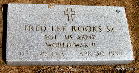 ROOKS, SR  (VETERAN WWII), FRED LEE - Woodruff County, Arkansas | FRED LEE ROOKS, SR  (VETERAN WWII) - Arkansas Gravestone Photos
