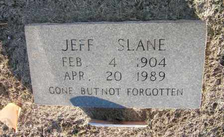 SLANE, JEFF - Woodruff County, Arkansas | JEFF SLANE - Arkansas Gravestone Photos