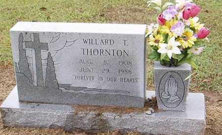 THORNTON, WILLARD T. - Woodruff County, Arkansas | WILLARD T. THORNTON - Arkansas Gravestone Photos
